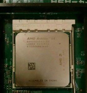 Процессор AMD Athlon 3500+ Socket 939 и кулер