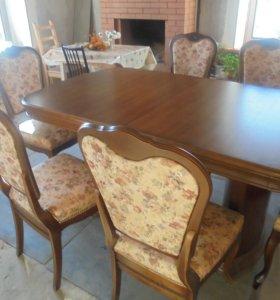 Обеденный комплект для столовой и гостинной
