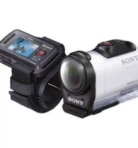 Экшн-камера Sony HDR-AZ1 + аксессуары