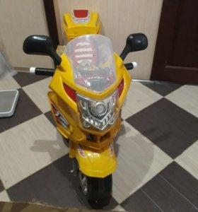 Мотоцикл электрический для 3- 6 леток