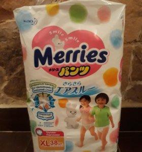 Трусики-подгузники Merries XL