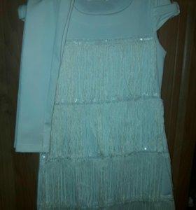 Платье на девочку. Рост146