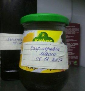 Сафлоровое 250 мл свежевыжатое масло (под заказ)