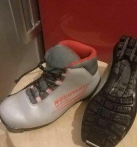 Ботинки лыжные Norbway 35 р.