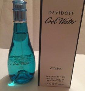 davidoff cool water 100ml тестер оригинал