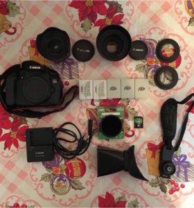 Canon 650D, Canon 24mm 2.8, Canon 50mm 1.8