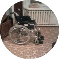 Инвалидное кресло - коляска 2+1