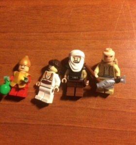 Фигурки Лего звездные воины и не только