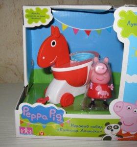 Peppa Pig Свинка Пеппа набор Каталка