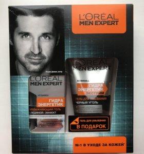 Увлажняющий гель и гель для умывания L'Oréal
