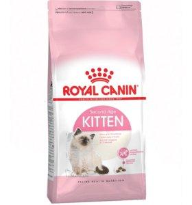 Роял канин для кошек  котята до 1 года 10 кг