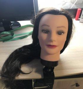 Голова-моникен учебная для причёсок