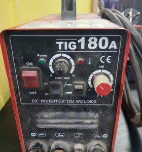 Продаю сварочный инвертор Tig180a
