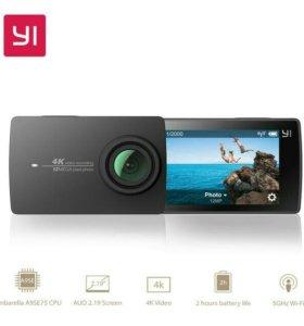 YI 4k black экшн камера