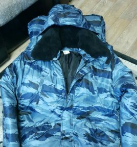 """Куртка зимняя """"Норд"""" Серый камыш. Новая!"""