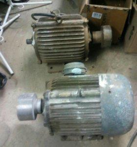 Эл.двигатель 1500об. 7.5квт