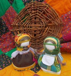 Уникальные славянские куклы ручной работы