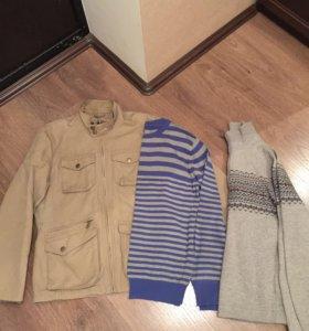 Свитер куртка S даром