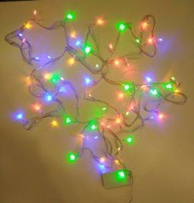 Гирлянда светодиодная 100 ламп 10 метров