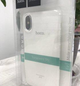Силиконовая накладка для iPhone X/iPhone 10