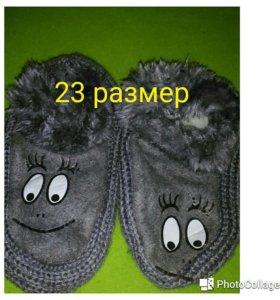 Детские носочки с глазками