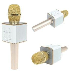 Микрофоны караоке беспроводные с динамиками