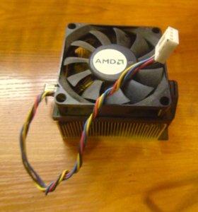 Куллер с радиатором для процессора AMD
