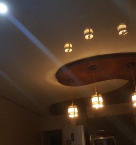 натяжные потолочки