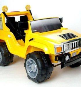 Детский электромобиль Joy Automatic Hummer A26