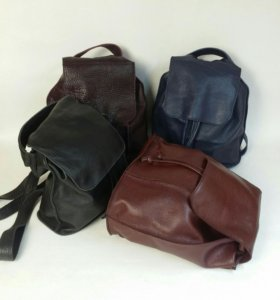 Рюкзаки из натуральной кожи!