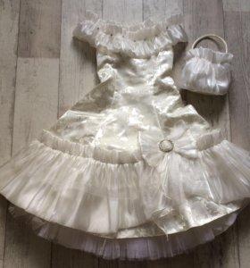 Новое платье для девочки , фирменное