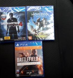 Игры PS4 новые запечатанны
