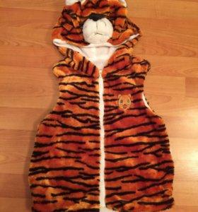 Новогодняя жилетка тигренка новая