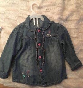 Кофта на девочку (джинсовый пиджачок !)