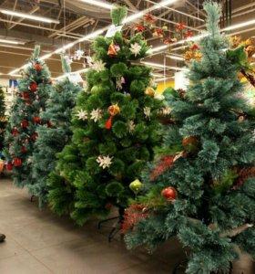 Новогодние елки пушистые с беспл доставкой