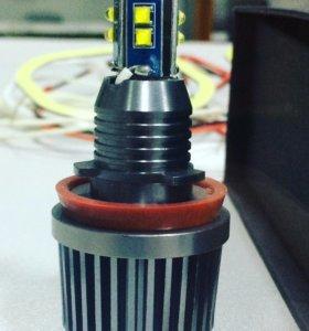 Светодиодный маркер E-70-H8-60W на BMW
