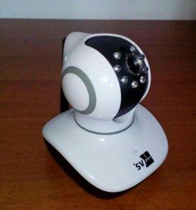 Поворотно-наклонная Wi-Fi IP Видеокамера