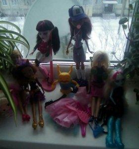 Куклы монстер хай