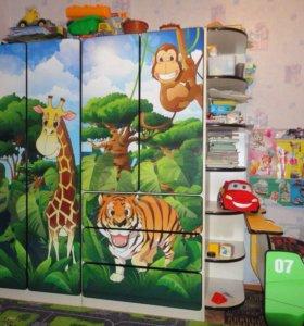 Детская мебель Африка