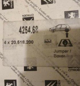 Колодки тормозные Jumper Boxer Ducato 425468