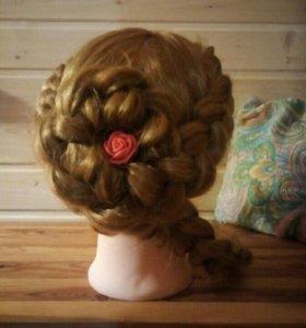 Обучение плетению кос.