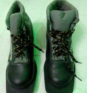 Лыжные ботинки, р.34, б/у 1сезон
