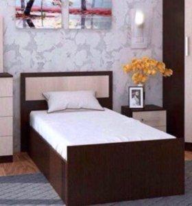 Кровать 120/200 с матрасом.