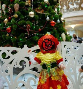 Новогодний маскарадный костюм