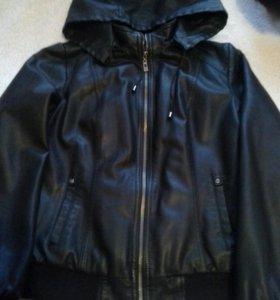 Курточка (кожа) с подстёжкой р-р М