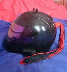 Хвостик на шлем, хвост, мотохвост, мотокоса
