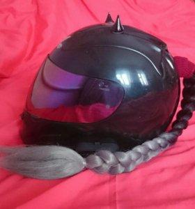 Хвостики на шлем, хвост, мотохвост,мотокоса
