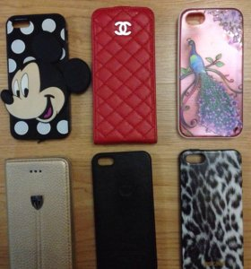 Чехлы IPhone 5 (за все-500 руб.)