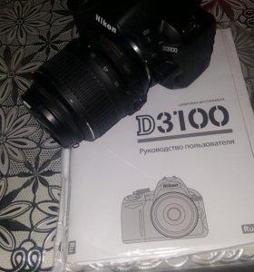 Продам новый фотоппарат Nixon D3100