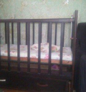 Кроватка -качалка